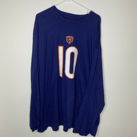 hot sale online d3d77 3240f Fanatics NFL Mens 5XL Chicago Bears Trubisky Shirt